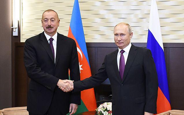 İlham Əliyev Vladimir Putinlə 10 noyabr Bəyanatını müzakirə etdi